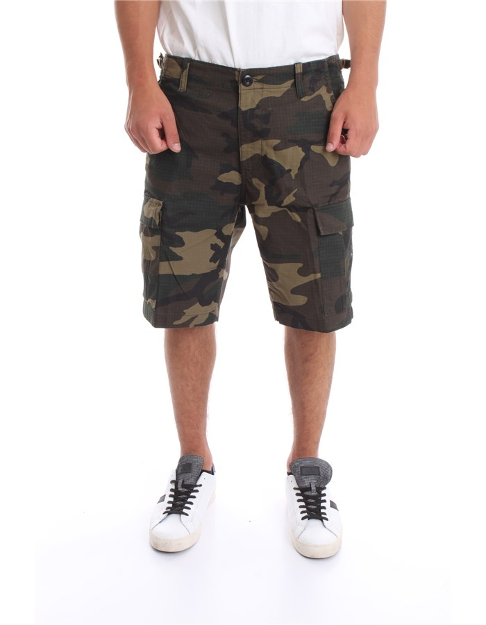 CARHARTT Shorts Camouflage