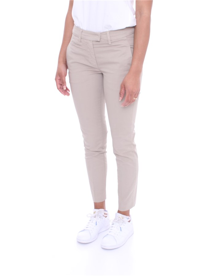 DONDUP Trousers Sand