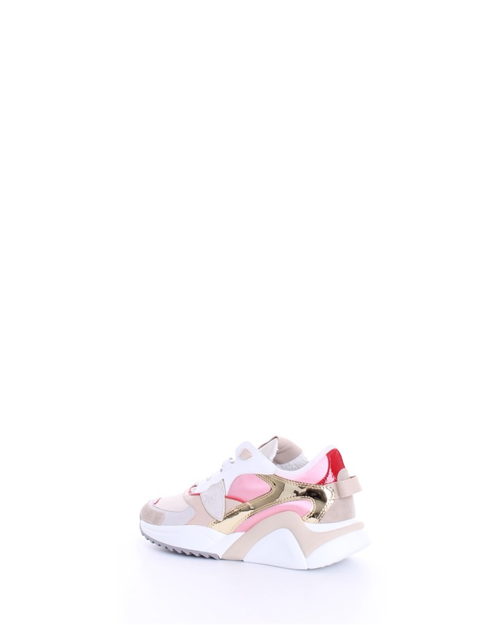 PHILIPPE MODEL Sneakers White pink