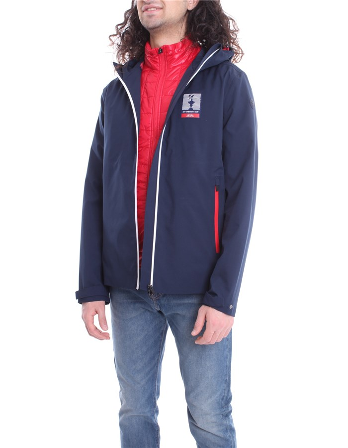 N.SAILS AMERICA'S CUP PRADA Jacket Red blue