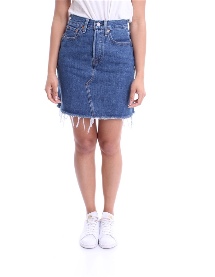 LEVI'S Skirts Skirt 77882 Dark blue
