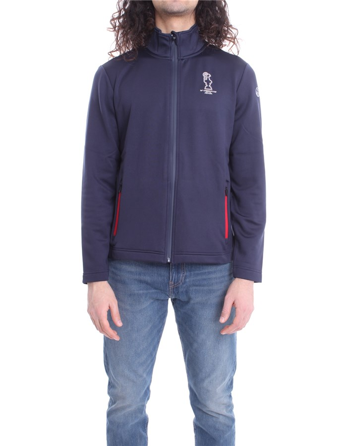 N.SAILS AMERICA'S CUP PRADA Sweat Blue