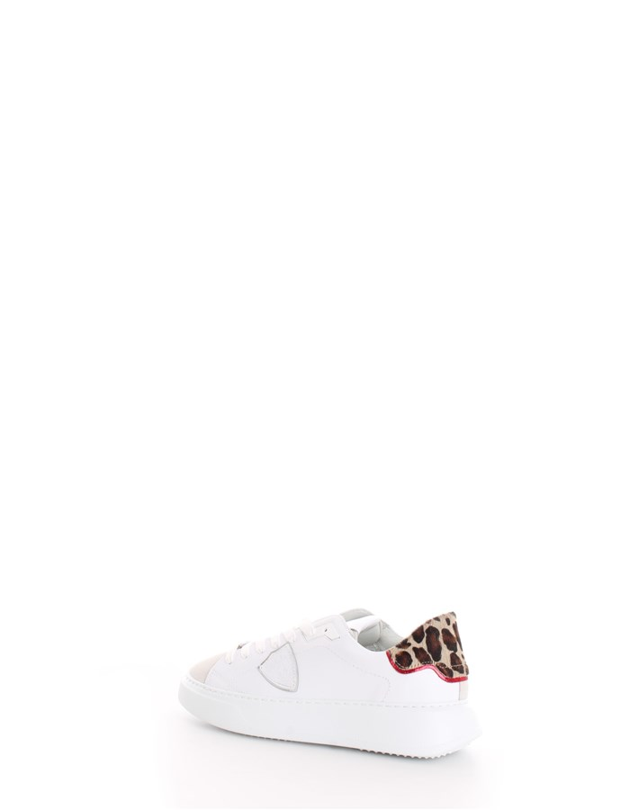 PHILIPPE MODEL  low Leopard white