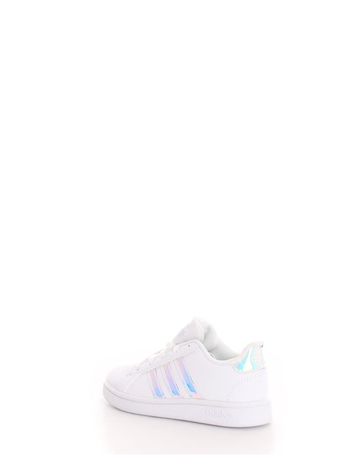 ADIDAS Sneakers Glitter white