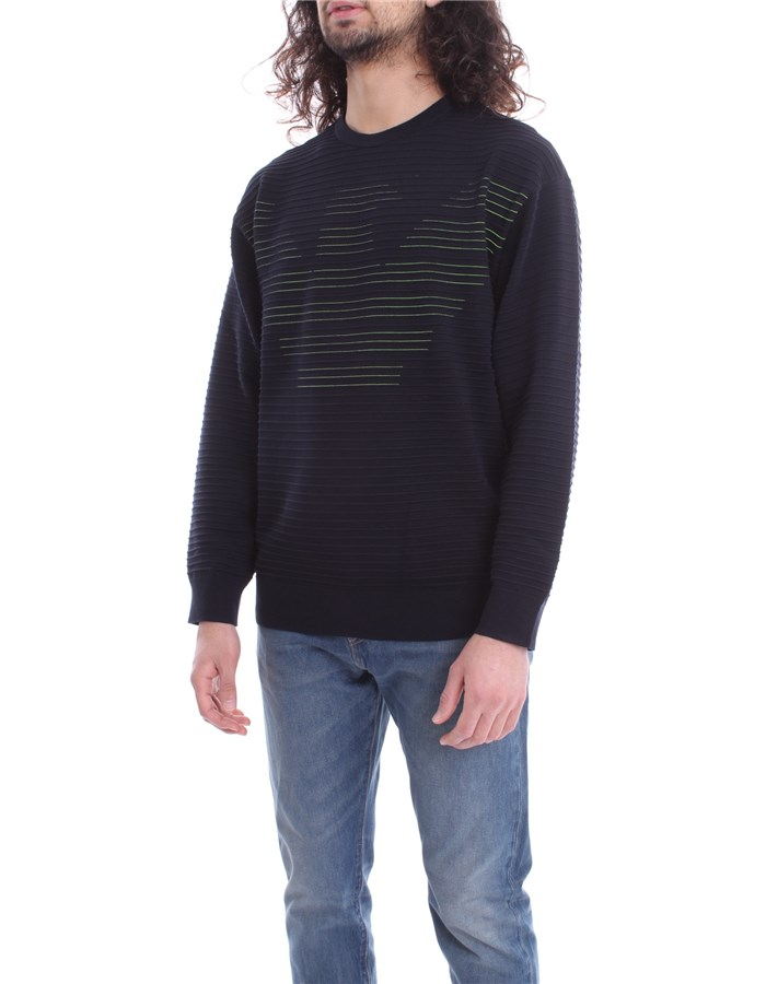 EMPORIO ARMANI Sweater Blue