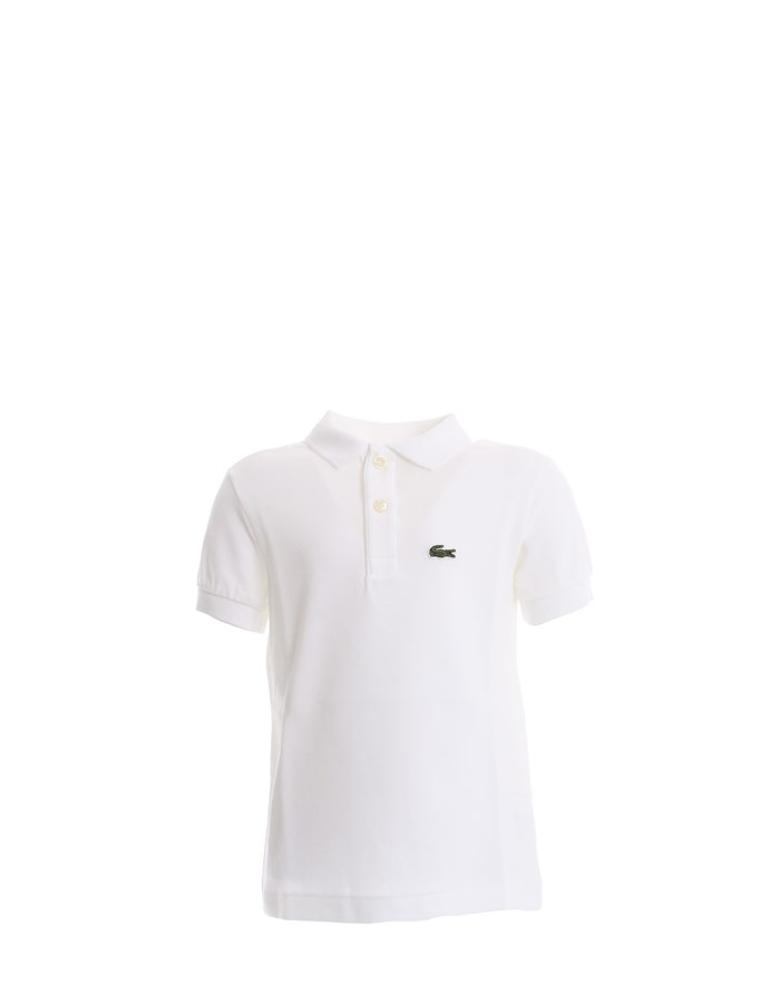 LACOSTE Polo shirt White