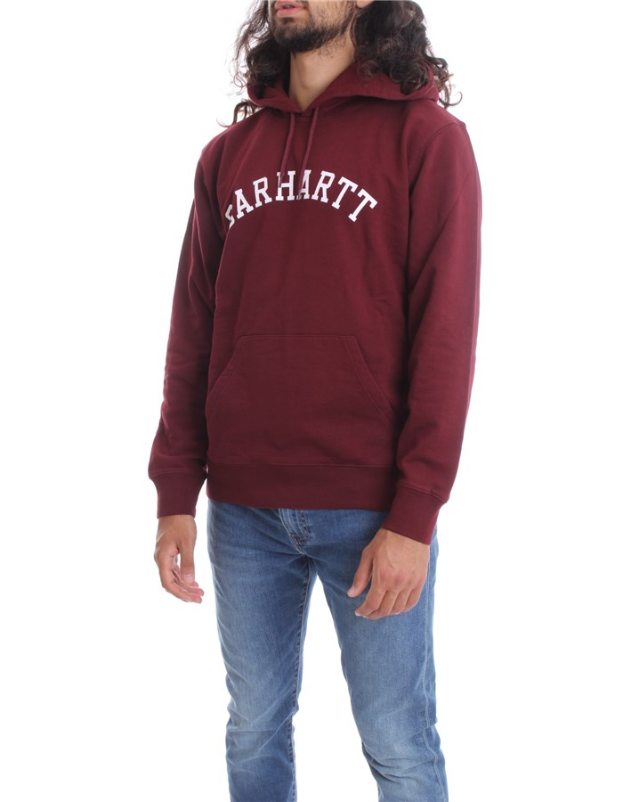 CARHARTT Sweat Bordeau