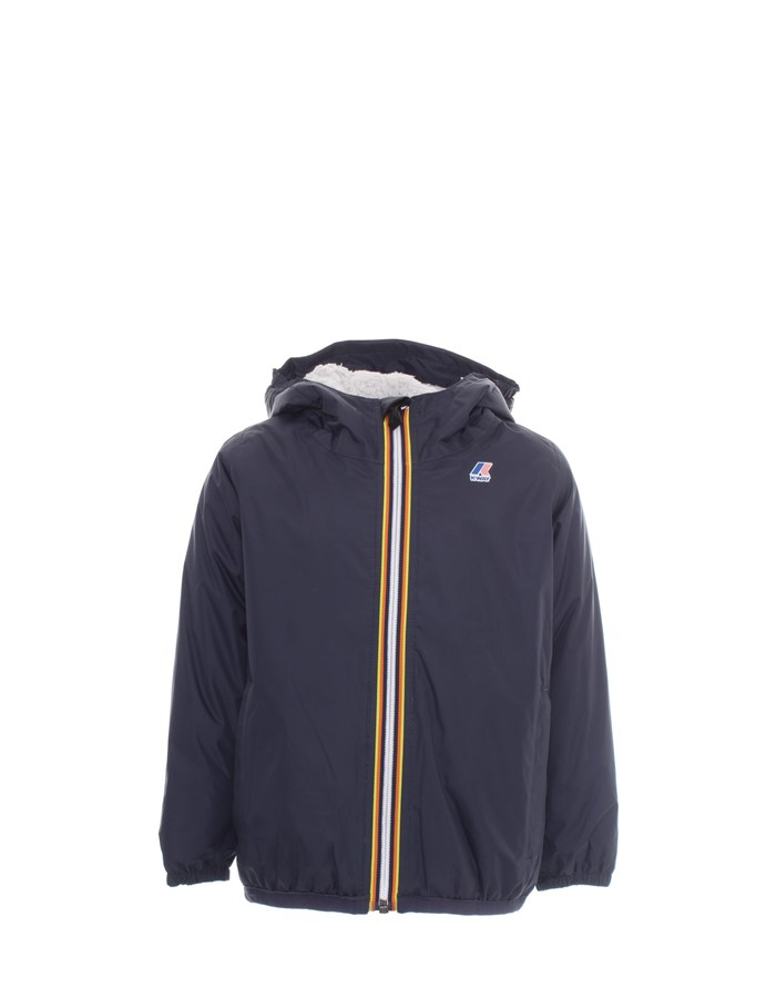 KWAY  Jacket K005DH0 B Blue depth