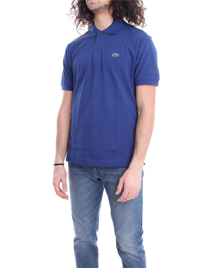 LACOSTE Polo shirt Methylene blue