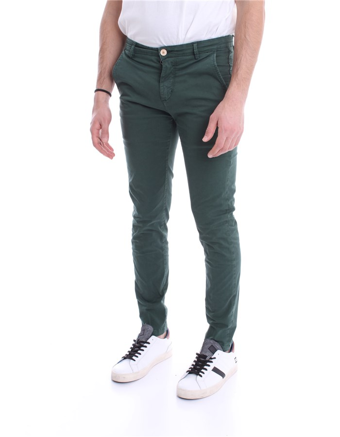 YAN SIMMONS Trousers English green
