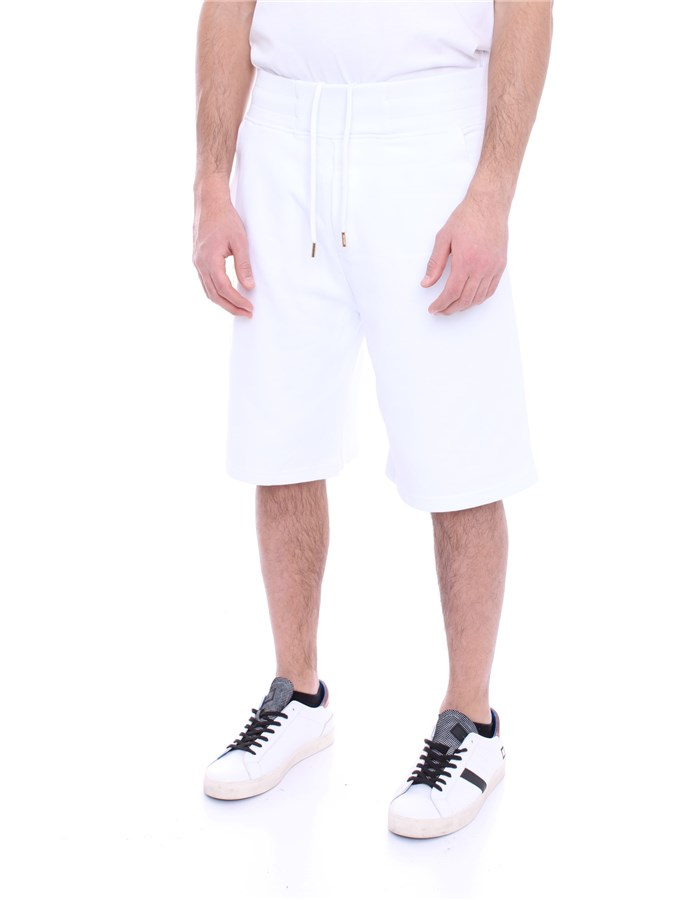 VERSACE Shorts White gold