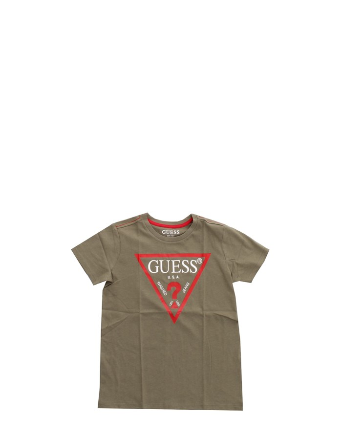 GUESS Short sleeve Green