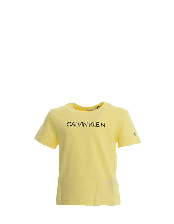 CALVIN KLEIN T-shirt Yellow