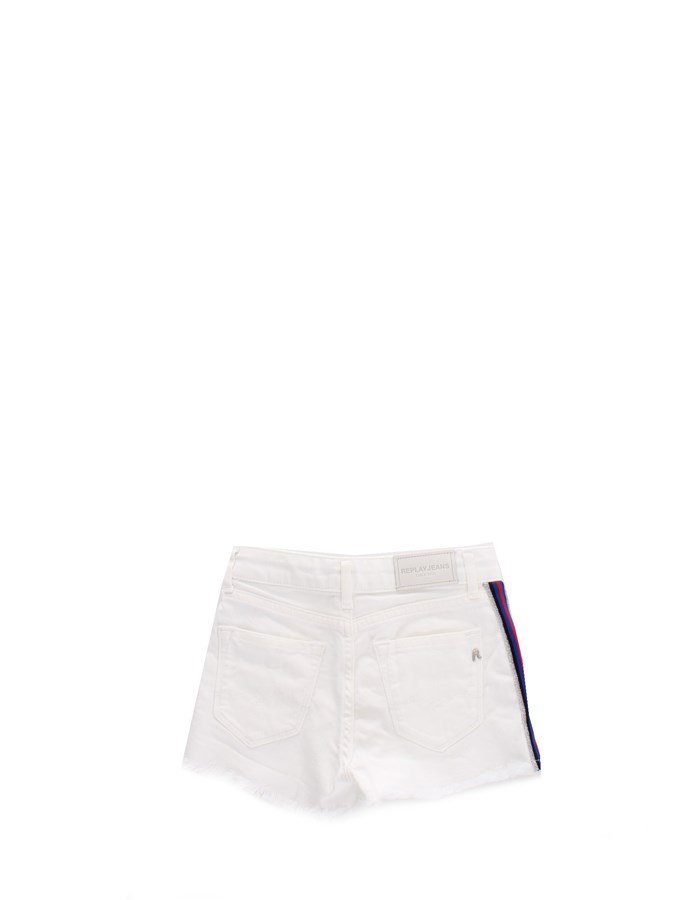 REPLAY Shorts White