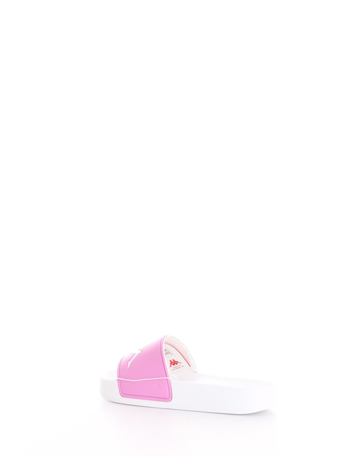 KAPPA Slipper White rose