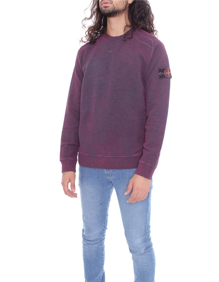 STONE ISLAND Sweat Wine