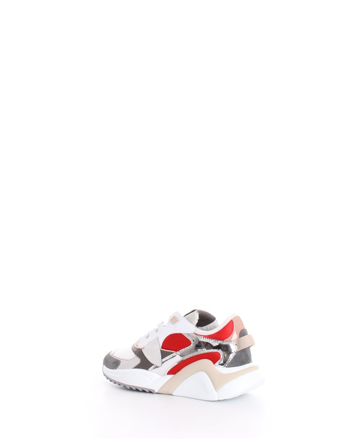 PHILIPPE MODEL Sneakers White Red