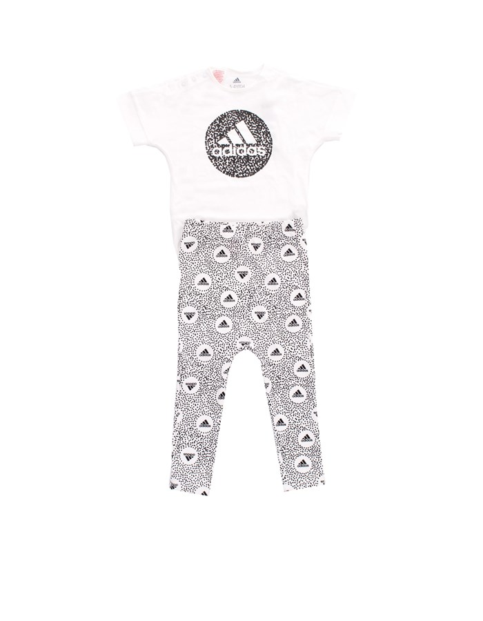 ADIDAS T-shirt + Leggings white