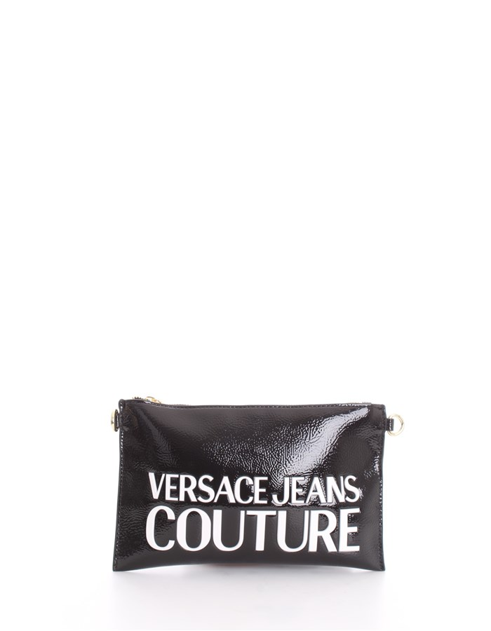VERSACE Shoulder Bags Black