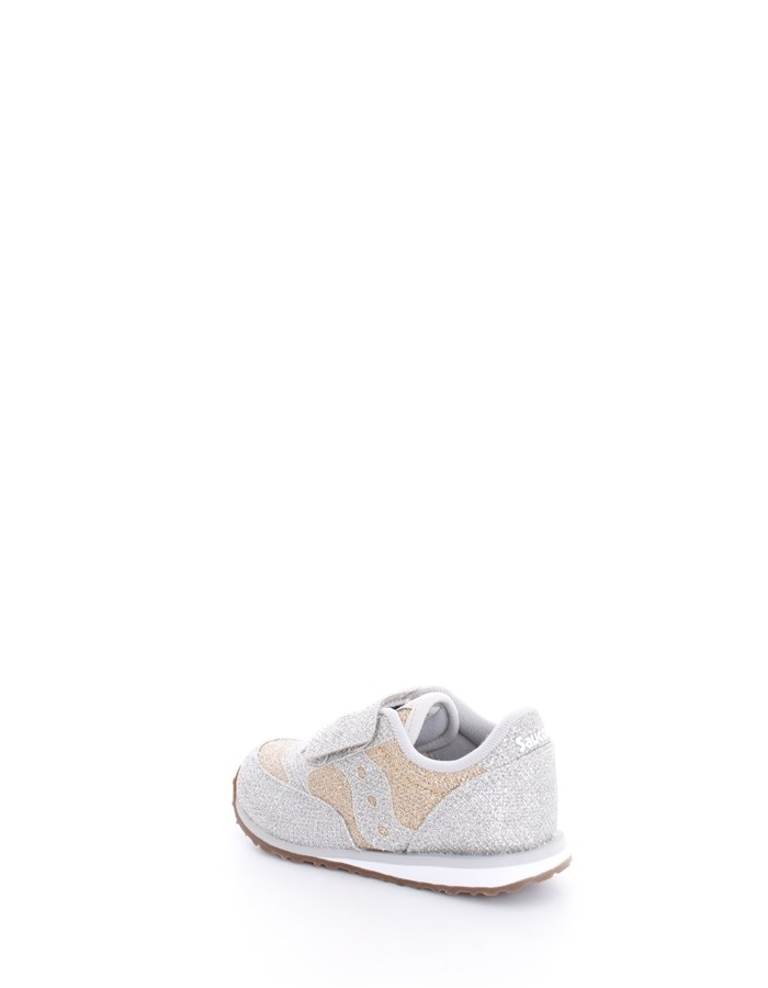 SAUCONY Trainers Gold Silver