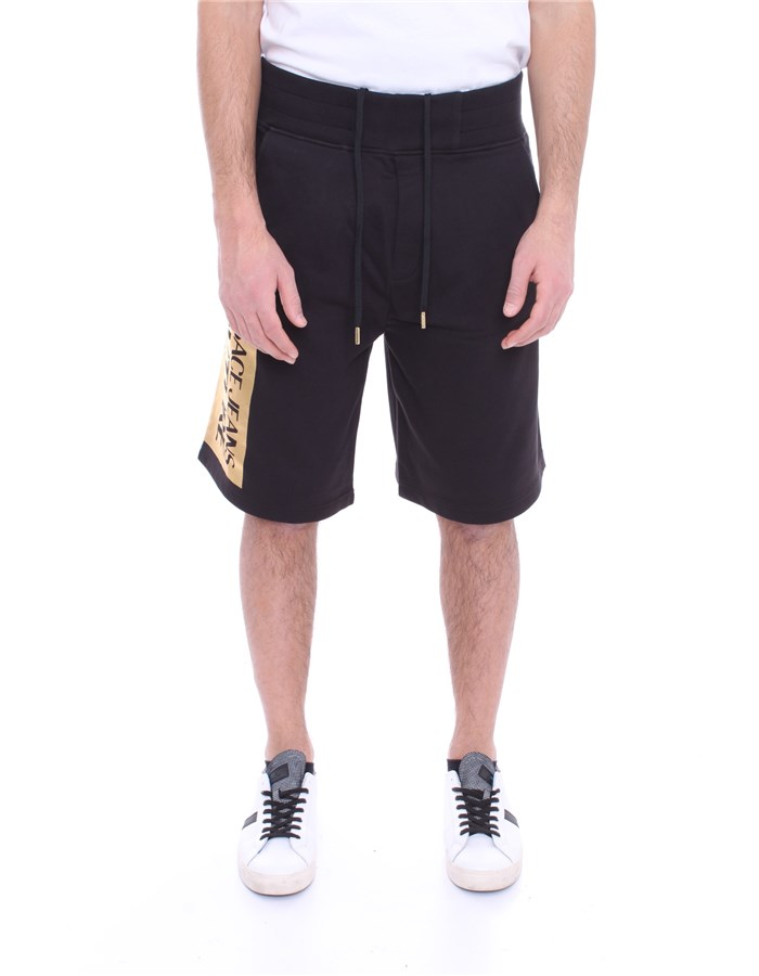 VERSACE Shorts Black gold
