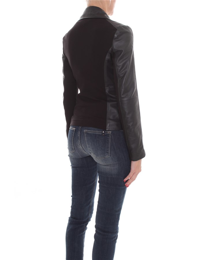 PINKO Jackets Leather jackets Women 1G1514-Y5N8 6