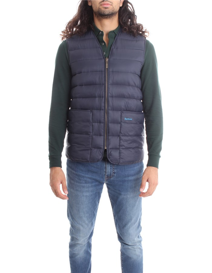 BARBOUR Vests Blue