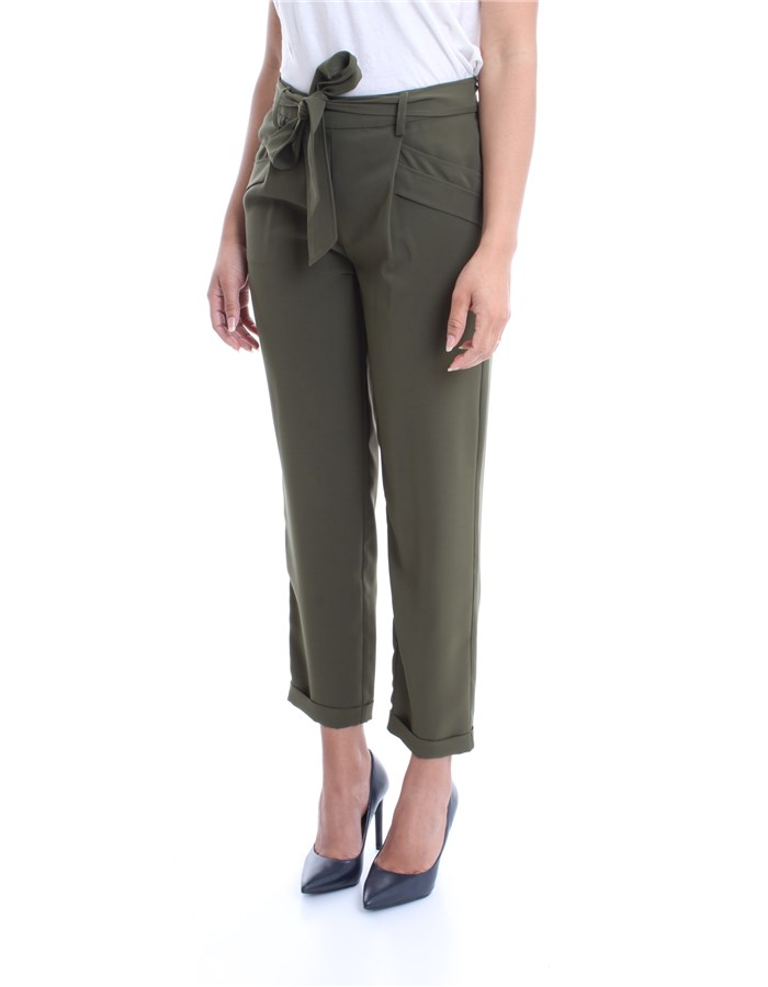 LIU JO Trousers Green