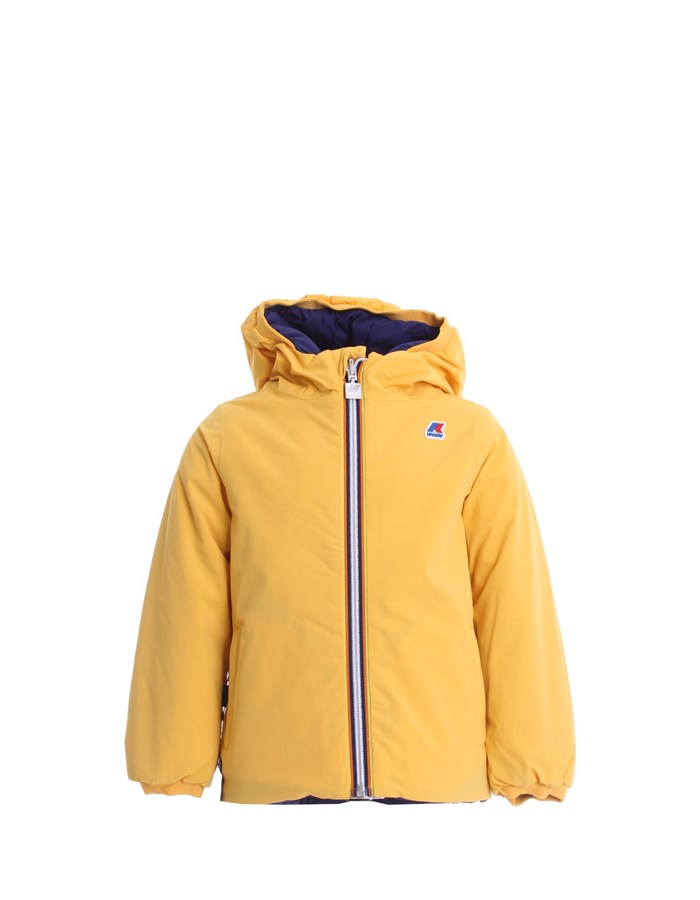 KWAY Jackets Short K111JKW B Yellow blue