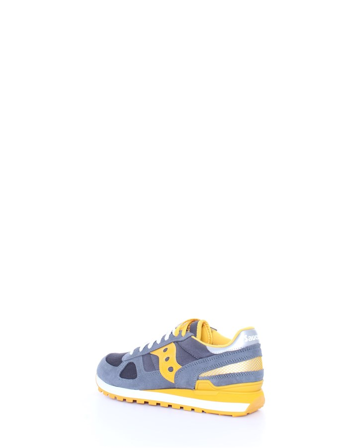 SAUCONY Trainers Yellow gray