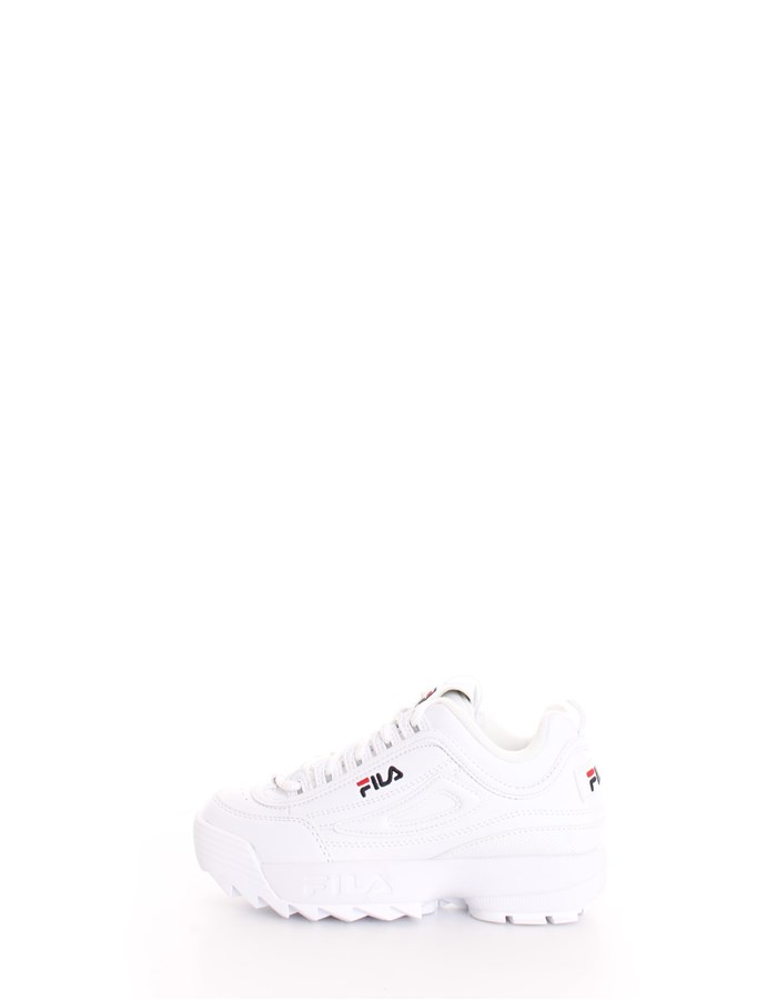 FILA Trainers White