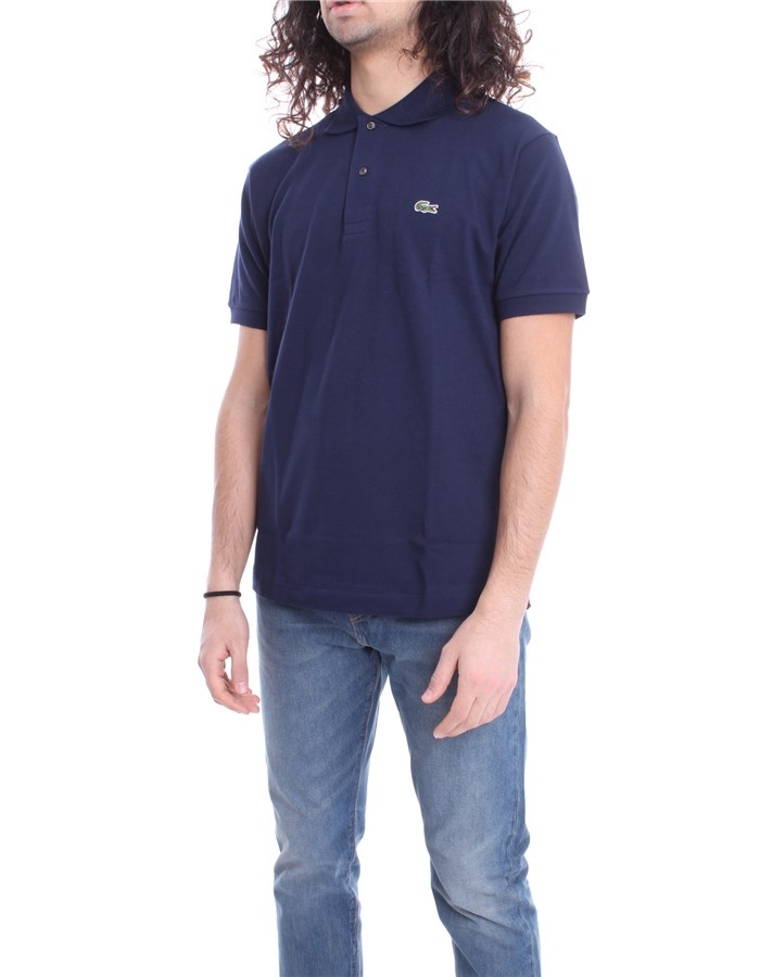 LACOSTE Polo shirt Marine blue