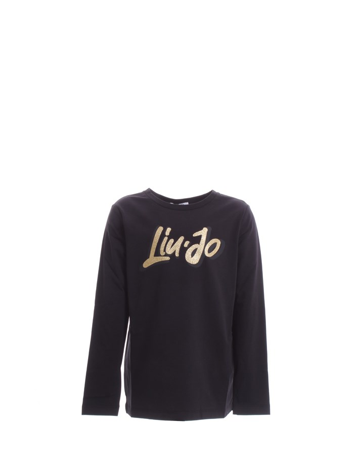 LIU JO Long sleeve Black gold