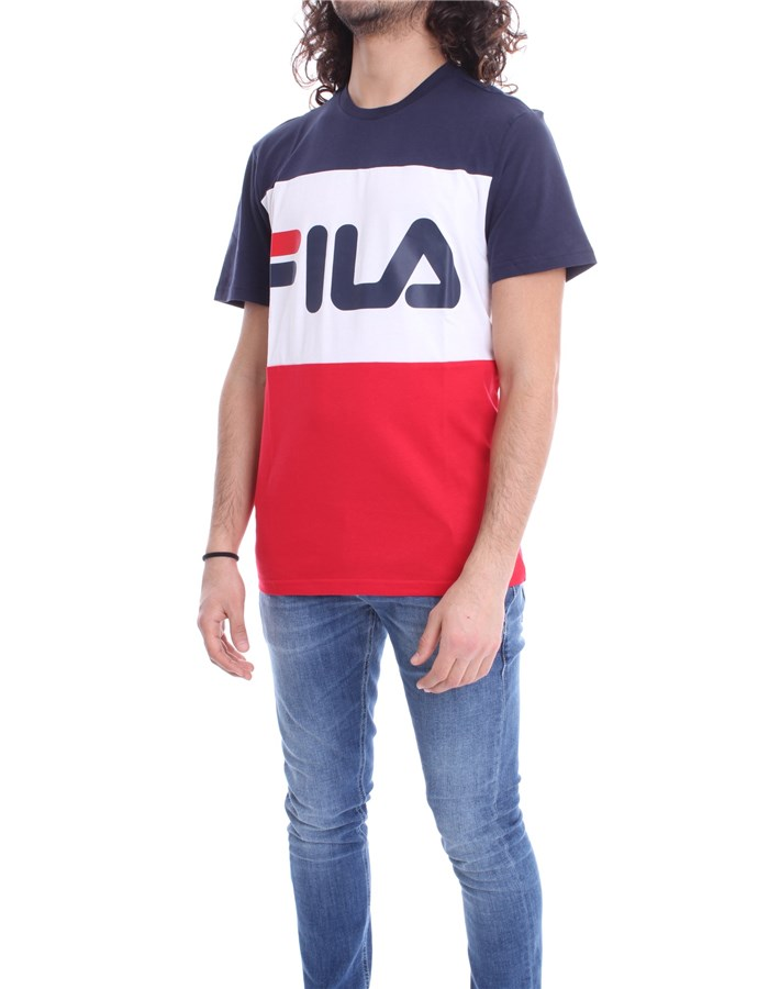 FILA T-shirt Red Blue