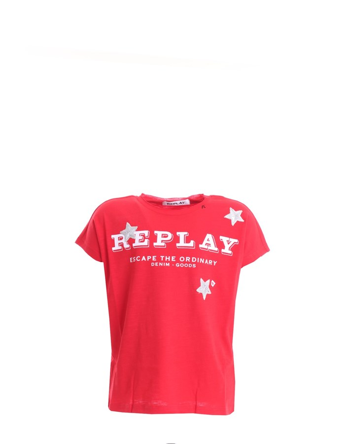 REPLAY  T-shirt SG7489 Red