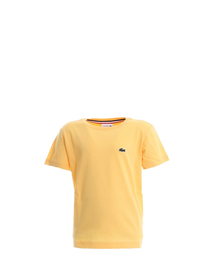 LACOSTE T-shirt Yellow