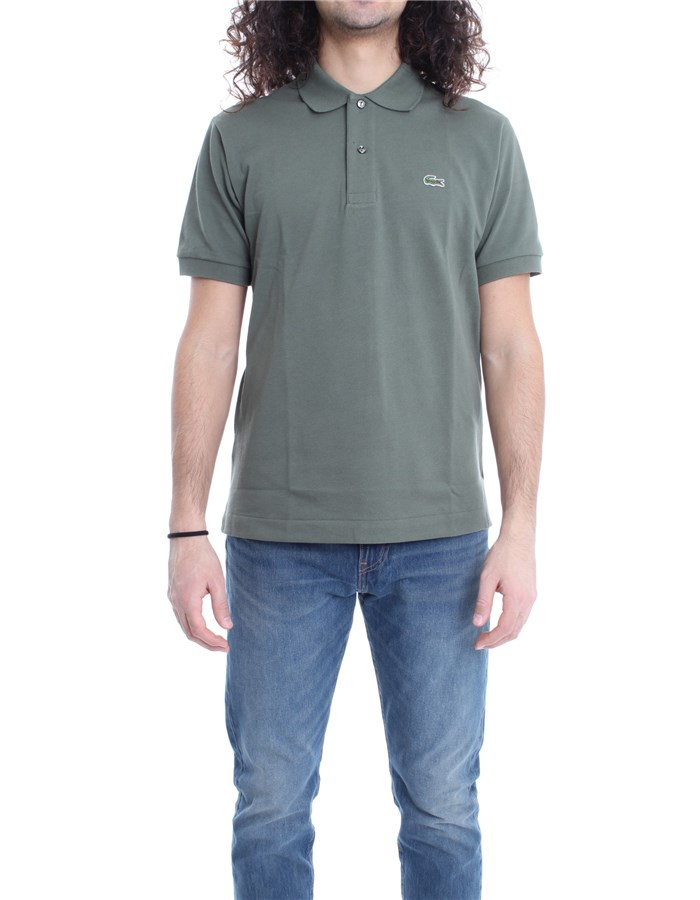 LACOSTE Polo Military green