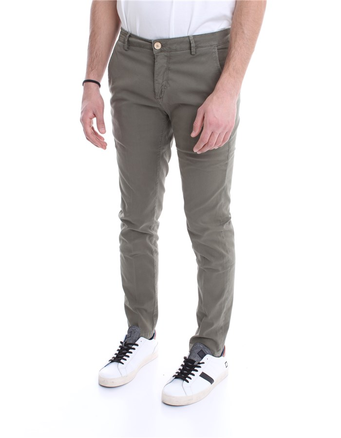 YAN SIMMONS Trousers Military