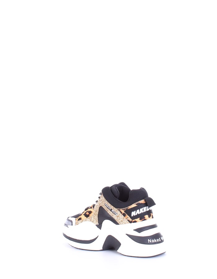NAKED WOLFE Sneakers Gold