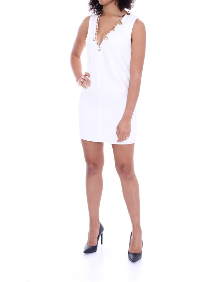 ELISABETTA FRANCHI Dress Ivory
