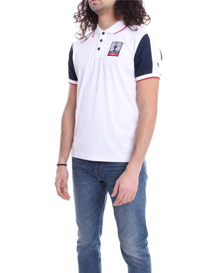 NORTH SAILS X PRADA Polo shirt White