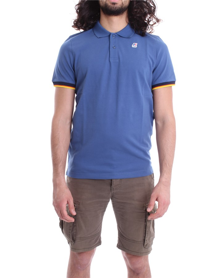 KWAY Polo Riviera blue