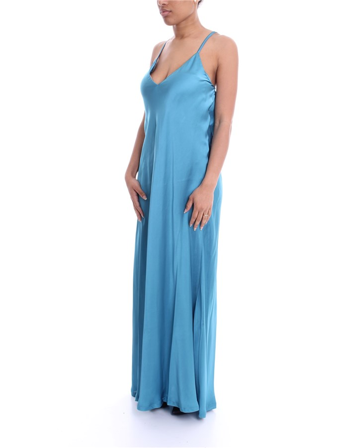 MADEMOISELLE DU MONDE Dress teal