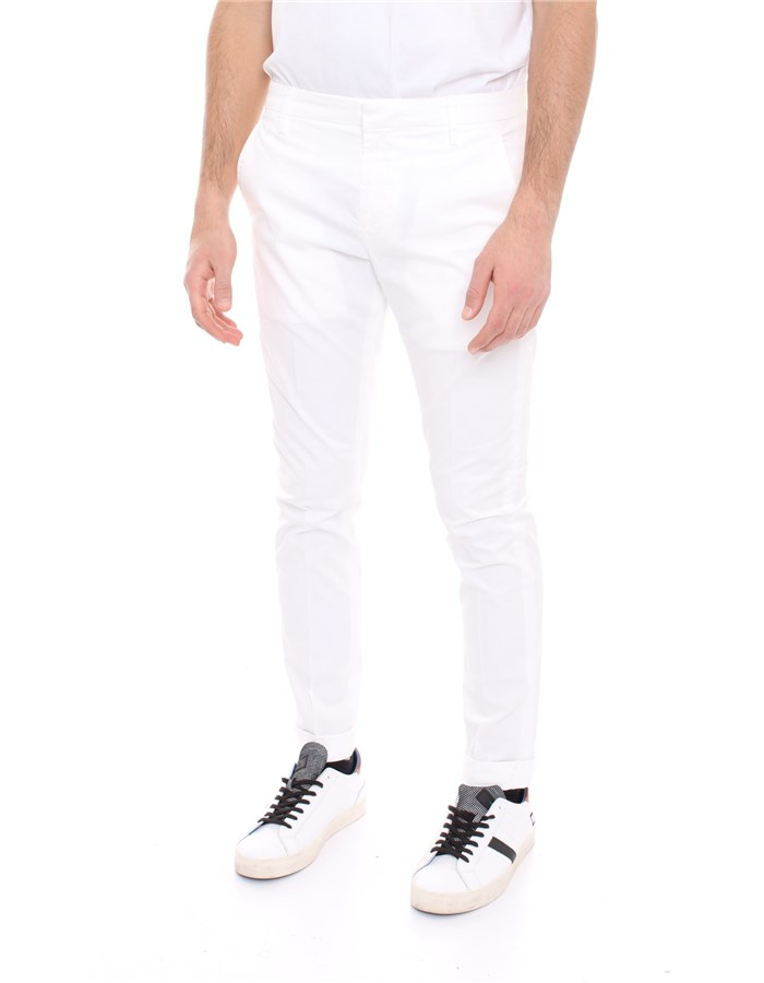 DONDUP Trousers White