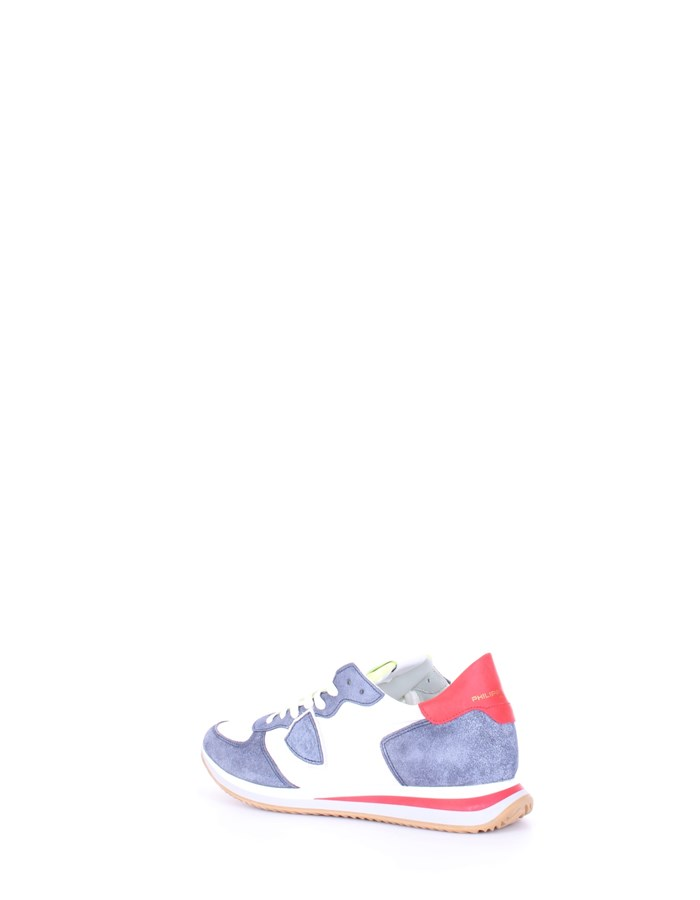 PHILIPPE MODEL Sneakers Blue white
