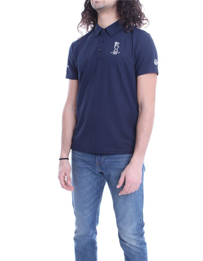 NORTH SAILS X PRADA Polo shirt Blue
