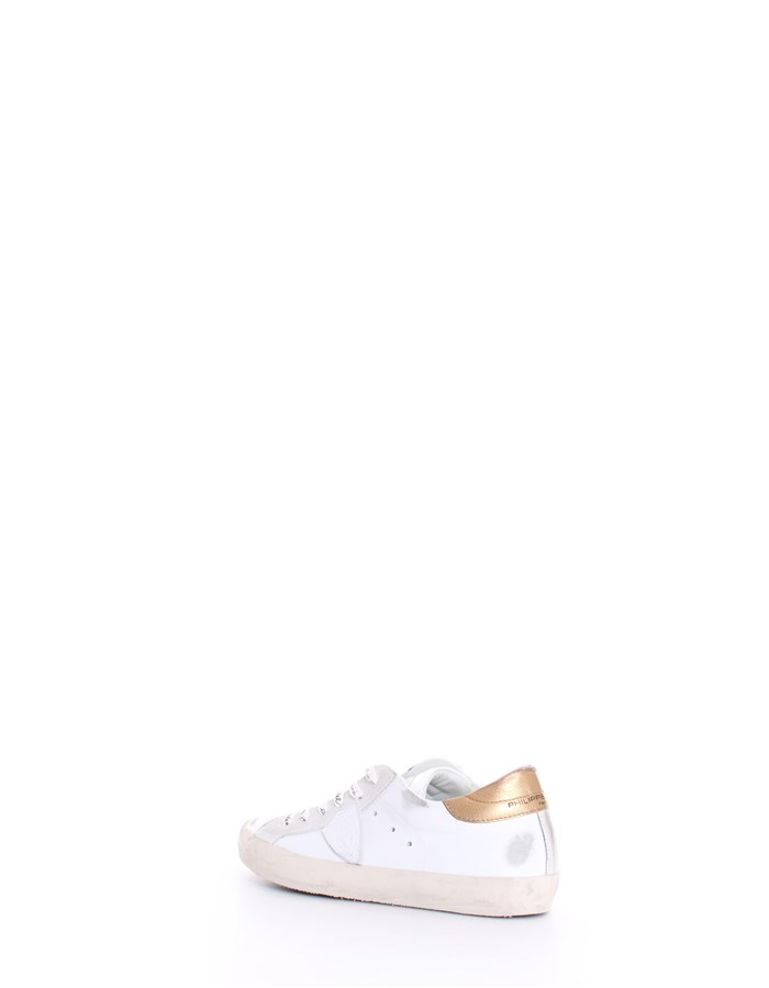 PHILIPPE MODEL Sneakers White gold