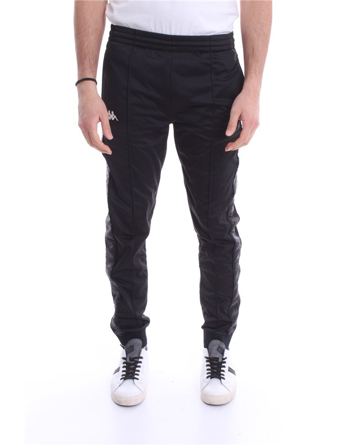 KAPPA Pants Black