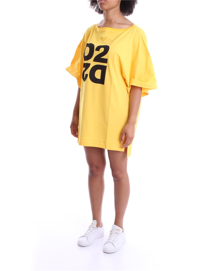 DSQUARED2 DRESS Yellow