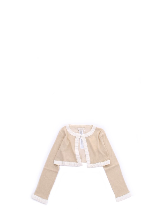 TWIN SET JERSEY Cream